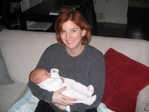 Madeleine and Sadie, March 31