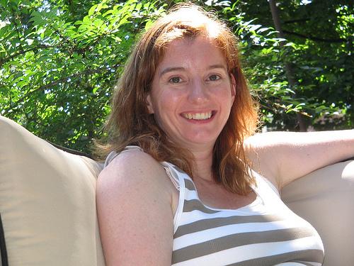 Sadie Smiling