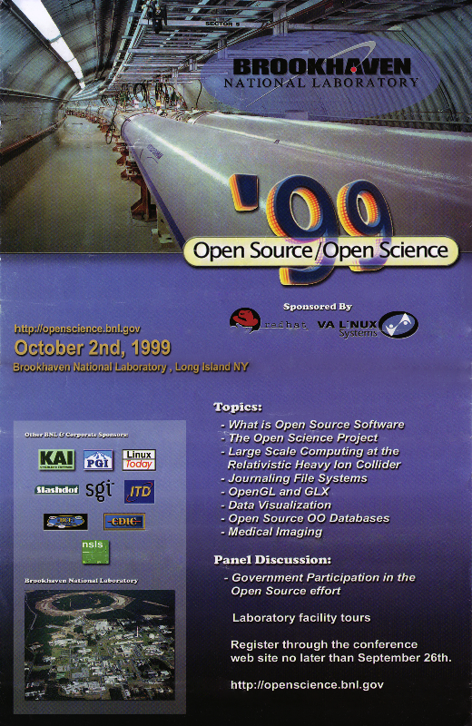 Open Source/Open Science poster