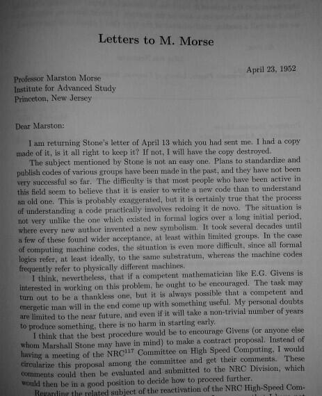 Copy of von Neumann Letter