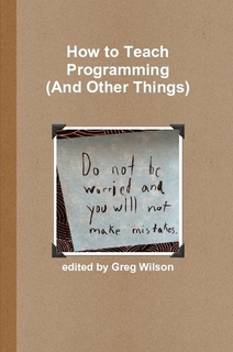 How to Teach Programmming (cover)