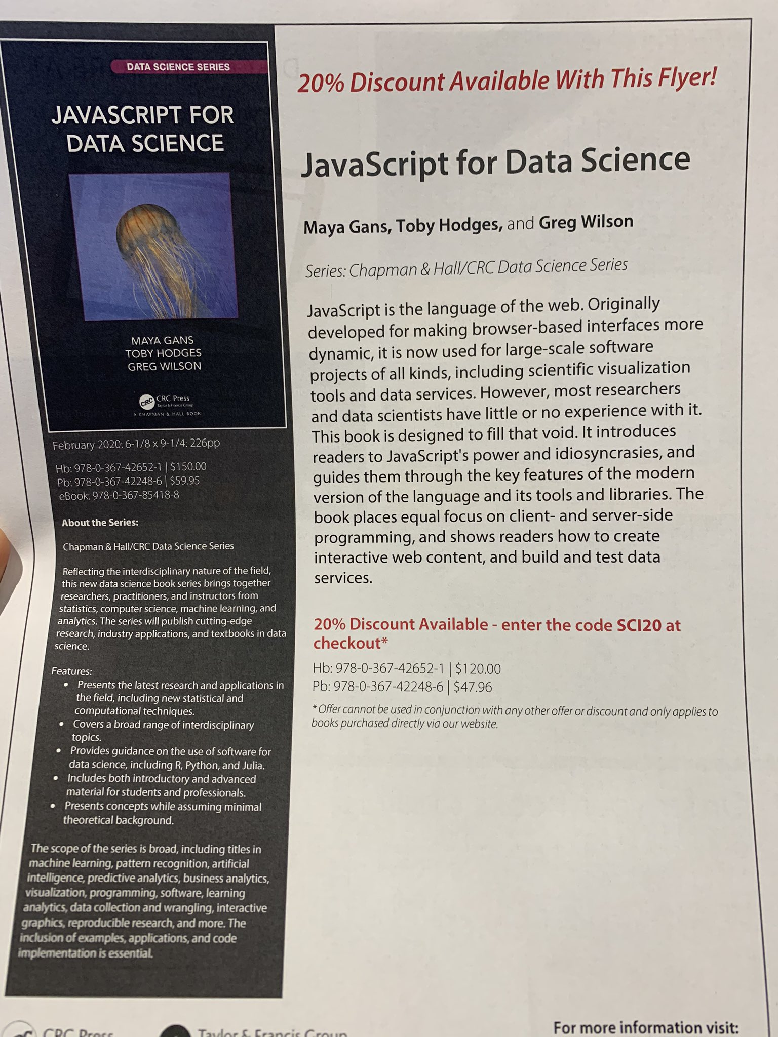 JS4DS flyer